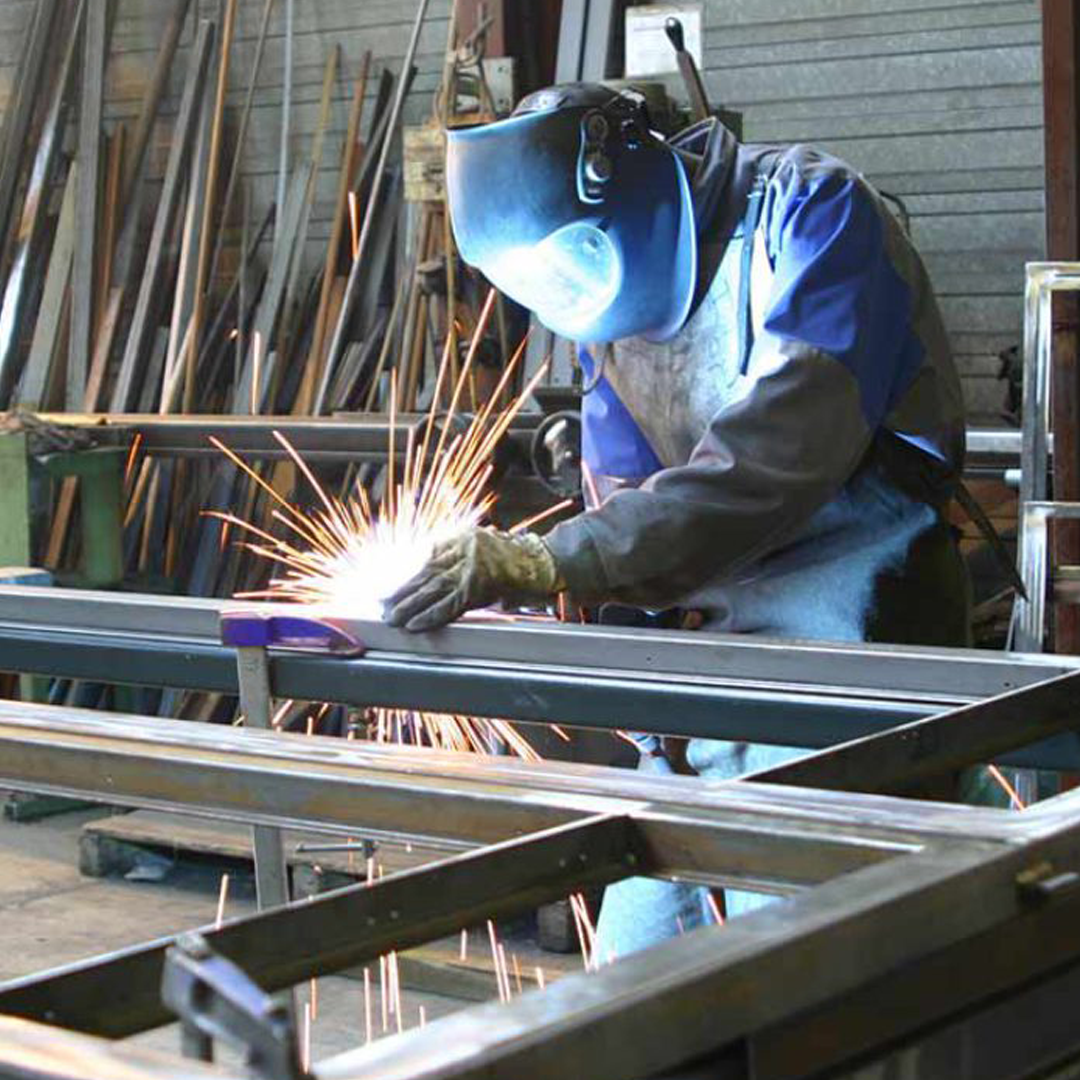 PRODUCTION OF METAL STRUCTURES